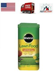 Miracle Gro Lawn Fertilizer 5 Lbs Water Soluble Fast Grow Thick Green Grass Food $60.00