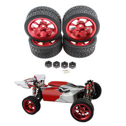RC Wheel Rims Tire for WLTOYS 144001 124018 124019 RC Racing Car Accessory $21.11