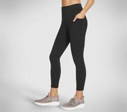 Skechers Women#x27;s Gowalk High Waisted 7 8 Legging Breathable Active Stretch SMALL $14.00