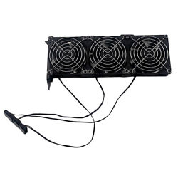 Universal 3 Fan GPU Cooling Cooler PCIe Graphics Card Cooling Fan Replacement $16.84