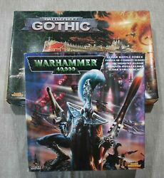 Warhammer Battlefleet Gothic and Eldar Battle Force Incomplete Sets