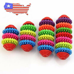 Pet Toys Chew Dental Teething Durable Bite Colorful Rubber for Dog Puppy Trendy $6.98