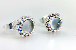 Authentic Pandora Silver 925 April Birthday Blooms Stud Post Earrings 290543 $19.99