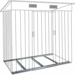 3.5 x 6 Ft Floor Base of Outdoor Storage Organizer Shed $22.99