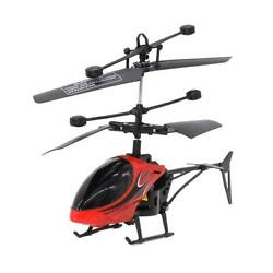Mini USB Remote Control Helicopter Induction Aircraft RC Drone with Light $12.23
