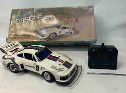 """Vintage Radio Shack Porsche 935 Turbo Rc """"For Parts And Repair"""" $59.99"""
