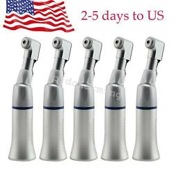 5pcs Dental Low Speed Wrench Type slow Handpiece Contra Angle fit Micro motors $61.99