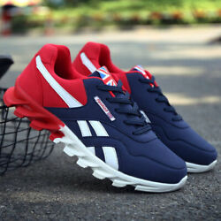 Men#x27;s Athletic Running Casual Sneakers Fashion Sports Tennis Shoes Walking Gym $25.99