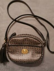 Tommy Hilfiger TH Crossbody Bag Zip with Small with Tassle $5.00