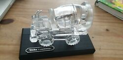 Tonka toy glass Crystal Cement Mixer. 1989 West Germany. With Display Board GBP 75.00