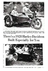 1928 Harley Davidson JD w Original Sidecar from Factory $85000.00