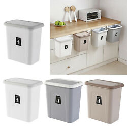 Small Compost Bin with Lid Plastic Waste Basket Mountable Compost Bucket $21.68
