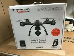 Yuneec Q500 4K Typhoon Quadcopter With CGO3 Camera NOT WORKING amp; FOR PARTS ONLY $125.00