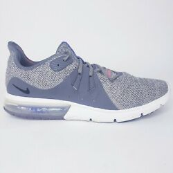 Nike Air Max Sequent 3 Size 12 Men#x27;s Athletic Sneaker Lace Up Running Shoes $34.99