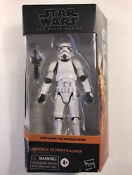 Star Wars Black Series Imperial Stormtrooper Action Figure Mandalorian Not Mint $34.95