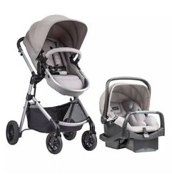 EVENFLO PIVOT MODULAR TRAVEL SYSTEM W SAFEMAX INFANT CAR SEAT $245.00
