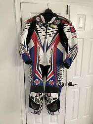BMW Motorcycle Racing Suit Size 46 $325.00