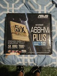 Asus Motherboard A68HM Plus $50.00