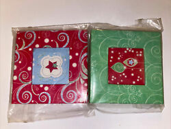 Lot of 2 Creative Memories Mini Frame Ornament Red amp; Green NEW $8.91