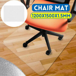 60quot;X48quot; Floor Office Rolling Chair Clear PVC Carpet Rug Protective Mat Pad NEW $38.12