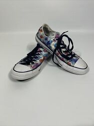 Converse All Star Womens Size 7 Daisy Floral Low Top Sneakers $21.99