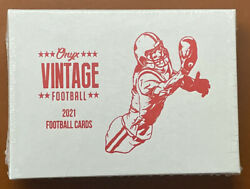 2021 Onyx Vintage Football Hobby Box Sealed 2 Auto Per Justin Fields Herbert ??? $58.99