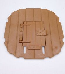 Playmobil 3666 Castle Parts Turret ROUND FLOOR WITH DOOR Kings Medieval Knights $4.99