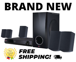 NEW LG 5.1 Channel 500W 3D Blu ray Home Theater Speaker Subwoofer System BH5140S $299.00