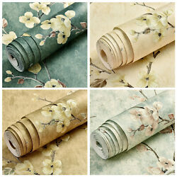3D Vintage Floral Wallpaper Stickers Non Woven Self Adhesive Wall Paper Bedroom $35.00