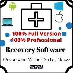 Data Recovery Professional Software Lifetime License Fast Delivery Best Price $3.99