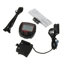 Waterproof Bicycle Meter Speedometer LCD Display Cycling Wired Stopwatch New Hot $7.99