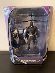 World Tech Toys Batman Helicopter The Dark Night Trilogy New In Box Sealed $35.00