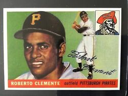 REPRINT 1955 Topps #164 ROBERTO CLEMENTE Rookie Pittsburgh Pirates Novelty $7.99