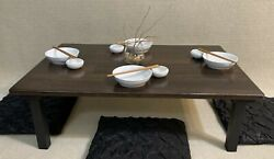 Chabudai Dining Table Low Table Japanese Table Coffee Table Floor Table $235.00