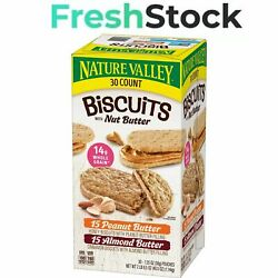 Nature Valley Biscuit Sandwich Variety Pack 30 ct. $16.33