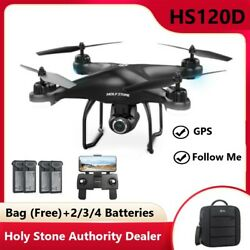 Holy Stone HS120D GPS Drone with 1080p HD Camera Selfie RTH Selfie RC Quadcopter $251.99