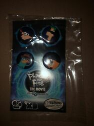 Phineas amp; Ferb: The Movie Pin Set $6.00