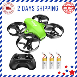 Upgraded Mini Drone Easy Fly Kids Beginners Indoor Outdoor Helicopter Quadcopter $44.29
