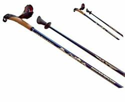SWIX of Norway New Carbon Poles with Cork Grips Life Time Warranty Double Wra... $211.58