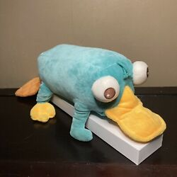 Disney Store Phineas and Ferb Talking Perry the Platypus Plush Animal 19quot; $9.99