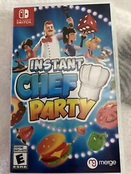 Instant Chef Party for Nintendo Switch Standard Edition Opened Box $18.00