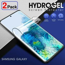 2Pack HYDROGEL Screen Protector Samsung Galaxy S21 S20 Fe S10 S9 S8 Plus Note 20 $4.45