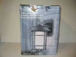 NEW OPEN BOX Altair Modern 9quot; LED Outdoor Decorative Wall Lantern AL 2167 $59.99