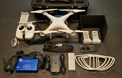 DJI Phantom 3 Professional 4K Drone. Pelican Style Case. Accessories Included $650.00