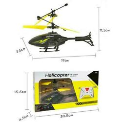 Kids RC Helicopter Remote Control Drone Induction Flying Plane Gifts Toy R5Y0 $11.51