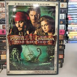 Pirates of the Caribbean Dead Man#x27;s Chest 60% OFF 4 DVD $2 Each $4.99