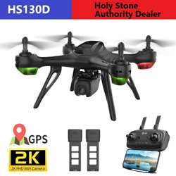 Holy Stone HS130D GPS Drones with 2K FHD Camera Video RC Quadcopter 2 Batteries $112.49