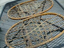 snow shoes 21 x 11 vintage no bindings sturdy $35.00