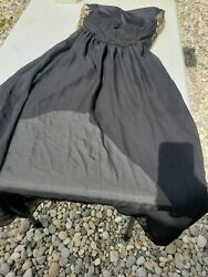 Black And Gold Party Dress Sequin $20.00