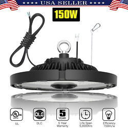 150W UFO LED High Bay Light Warehouse Factory Industrial Commercial Lighting UL